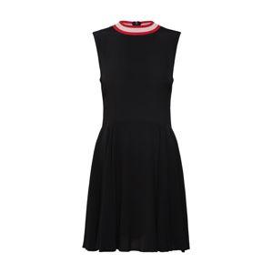 Review Letní šaty 'RIBCOLLAR'  černá