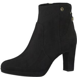 TAMARIS Kotníkové boty  černá
