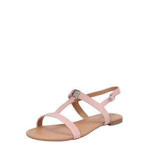 ESPRIT Páskové sandály 'Pepe T-Strap'  růžová