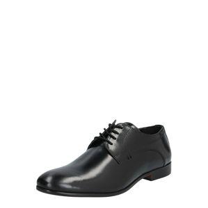 Hudson London Sportovní šněrovací boty 'CRAIGAVON HI'  černá