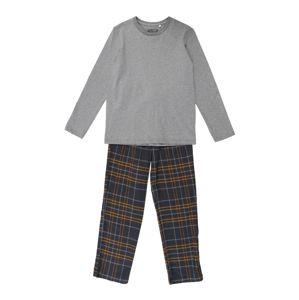 SANETTA Pyžamo  šedá / šedý melír