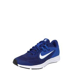NIKE Sportovní boty 'Nike Downshifter 9'  královská modrá / tmavě modrá / bílá