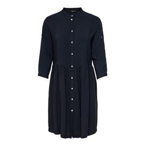 ONLY Košilové šaty  noční modrá