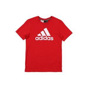 ADIDAS PERFORMANCE Funkční tričko  červená