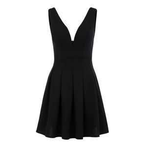 WAL G. Koktejlové šaty  černá