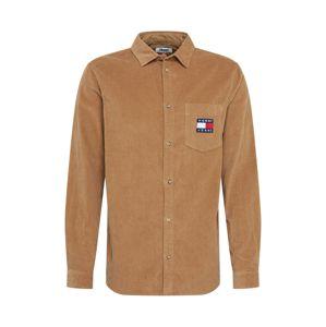 Tommy Jeans Košile  světle hnědá