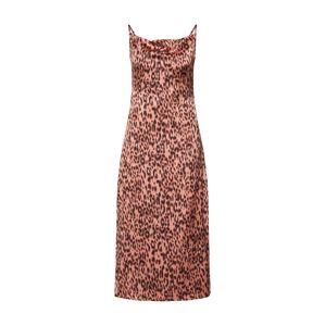 GLAMOROUS Společenské šaty 'LADIES DRESS'  pink / černá