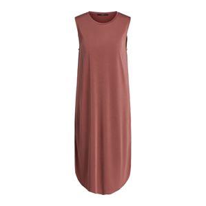 SET Šaty  pastelově červená