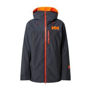 HELLY HANSEN Outdoorová bunda 'STRAIGHTLINE LIFALOFT'  kobaltová modř / oranžová