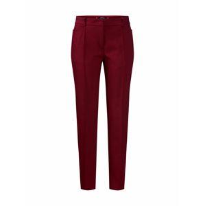 MORE & MORE Kalhoty s puky  oranžově červená / tmavě červená
