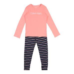 Calvin Klein Underwear Pyžamo  námořnická modř / růžová