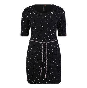 Ragwear Plus Šaty 'TAMY'  černá