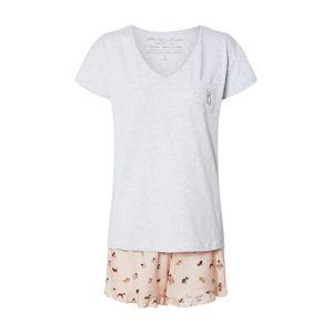 ESOTIQ Pyžamo 'BARKY'  mix barev / šedá / růžová
