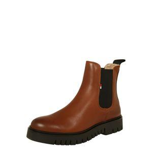 Tommy Jeans Chelsea boty  hnědá