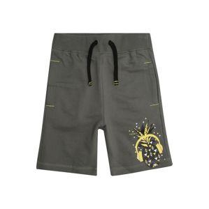 ESPRIT Kalhoty  žlutá / antracitová