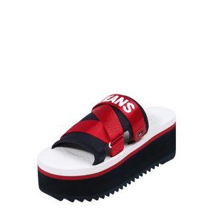 Tommy Jeans Páskové sandály 'COLETTE  3D'  tmavě modrá / červená / bílá