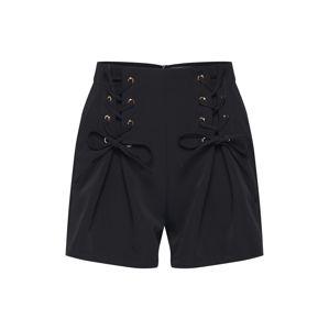 4th & Reckless Kalhoty 'TYLER SHORT'  černá