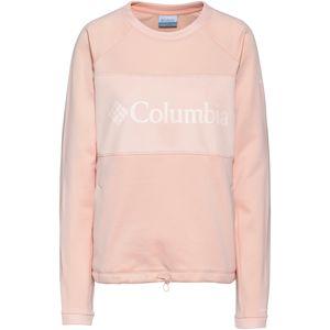 COLUMBIA Sportovní mikina  růžová / bílá