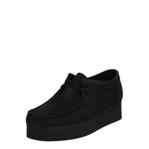 Clarks Originals Šněrovací boty  černá