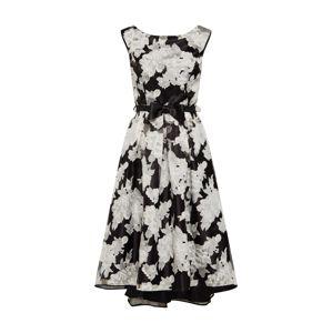 SWING Šaty  krémová / černá