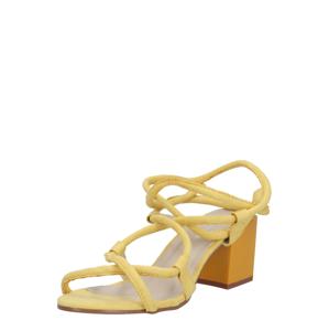 GLAMOROUS Sandály  žlutá