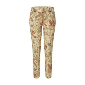 MOS MOSH Kalhoty se sklady v pase 'Abbey Eden'  mix barev / režná