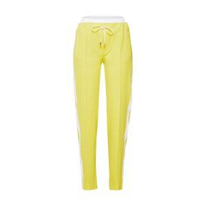 DRYKORN Kalhoty se sklady v pase 'RAVING'  žlutá